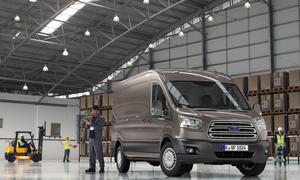 Ford Transit 2013 Modellfamilie Commercial Vehicle Show Birmingham Kleinstransporter