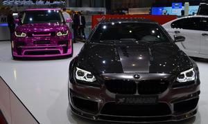 Hamann Mirr6r BMW M6 Coupé Tuning Genfer Autosalon 2013 Messestand Front