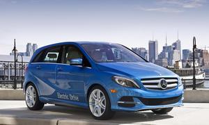 Mercedes B-Klasse Electric Drive 2014 New York Auto Show