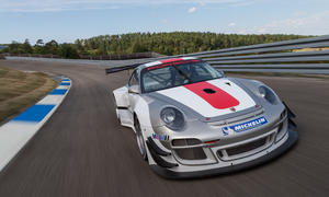 Porsche 911 GT3 R Rennwagen Update 2013 997 Motorsport Rennversion