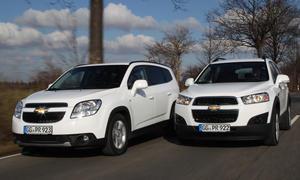 SUV Chevrolet Orlando 2.0 TD Captiva 2.2 Diesel 2WD