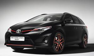 Toyota Auris Touring Sports Black Studie Genfer Autosalon 2013 Front