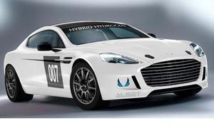 Aston Martin Hybrid Hydrogen Rapide S 2013 Wasserstoff Nürburgring 24-Stunden-Rennen