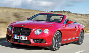 Bentley Continental GTC V8 Luxus-Cabrio Sportwagen Test