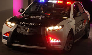 Carbon Motors Insolvenz 2013 Polizeiauto US Cop Car BMW Diesel