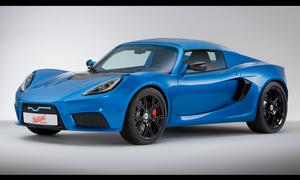 Detroit Electric Elektro-Sportwagen Auto China 2013 Shanghai Motor Show