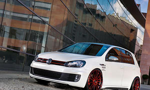 Dotz Tuning Felge Fast Fifteen red edt. - lake VW Golf VI GTI