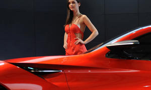 Girls Shanghai Motor Show 2013 Hostessen China