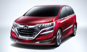 Honda Concept M 2013 Van MPV Studie Shanghai Motor Show