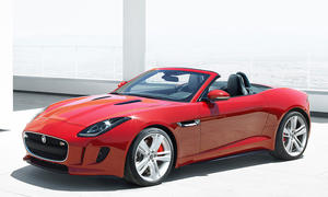 Jaguar F-Type 2013 Auto Salon Paris 2012 Roadster Premiere