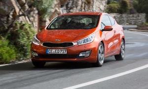 Kia pro_cee'd 1.6 GDI 2013 Fahrbericht Kompaktklasse Dreitürer