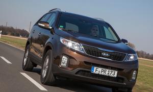 Kia Sorento 2.2 CRDi AWD Automatik Test Bilder Kompakt-SUV Siebensitzer