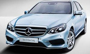 Mercedes E Klasse Langversion 2013 Shanghai Motor Show Lang