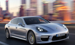 Porsche Panamera Facelift 2013 E-Hybrid Shanghai Motor Show China