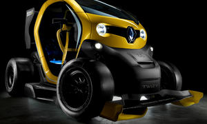 Renault Twizy F1 Concept 2013 Elektro Sportwagen KERS Formel 1