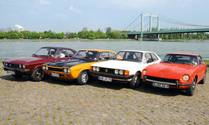 Sportcoupes 70er Jahre 240 Z Ford Capri RS Opel Manta VW Scirocco
