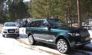Vergleichstest Luxus-SUV Audi BMW Range Rover Vierte Generation