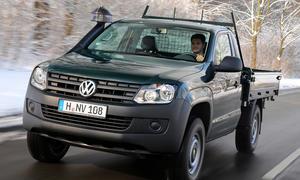 VW Amarok Dreiseiten Kipper 2013 BAUMA Baufahrzeug