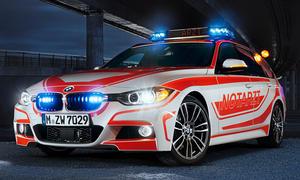 BMW 3er Touring M Sportpaket Notarzt Einsatzfahrzeug RETTmobil 2013