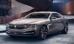 BMW Pininfarina Gran Lusso Coupe 2013 8er Concorso d Eleganza Villa d Este Design-Studie 7er