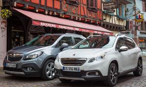 Bilder Opel Mokka Peugeot 2008 2013 Mini-SUV