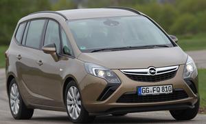 Bilder Opel Zafira Tourer 2.0 CDTI 2013 Kompakt Vans Stoßdämpfer