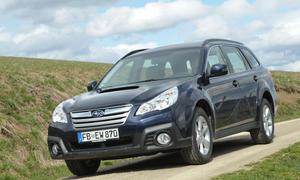 Bilder Subaru Outback 2.0D 2013 Fahrbericht Facelift