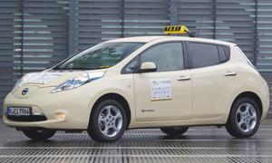 Nissan Leaf Taxi des Jahres 2013 Nissan Leaf