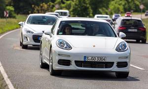 Porsche Panamera S E Hybrid 2013 Praxis-Verbrauch Test Technik Plug-in-Hybrid