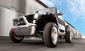 Quadix eBuggy Elektroauto Preis 2013 Zweisitzer
