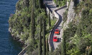 Classic Cars Audi 100 Coupe S Opel GT Ausfahrt Bilder Gardasee