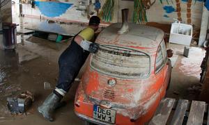 Hochwasser 2013 Flut Katastrophe Spenden Autoindustrie Leihwagen Ersatzauto Kostenlos