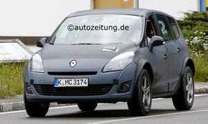 Renault Koleos 2015 Erlkönig Mule SUV Geländewagen Erprobung