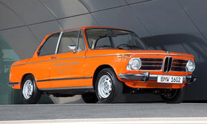 BMW Elektroauto Geschichte 1602 E1 i3 ActiveE MINI E Rolls Royce Elektro