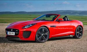 Jaguar F-Type RS Roadster V8 Supersportler Rendering Theophilus Chin