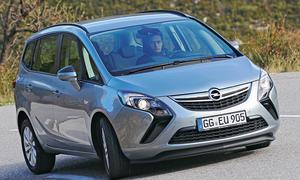 Opel Zafira Tourer 1.6 CDTI 2013 Bilder technische Daten Diesel