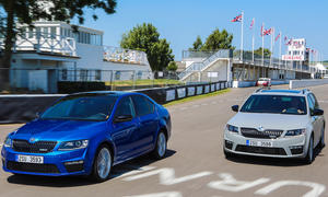 Video Skoda Octavia RS 2013 Goodwood Festival of Speed Kombi
