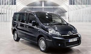 Toyota Proace 2013 Kastenwagen Nutzfahrzeuge Bilder Markteinführung