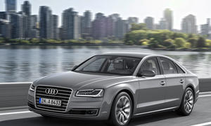 Audi A8 Facelift 2013 Luxus-Limousine IAA Premiere hybrid Verbrauch Preis