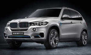 2013 BMW X5 eDrive Concept IAA Plug in Hybrid SUV Studie
