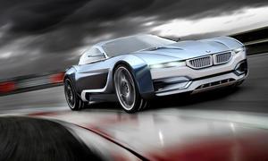 BMW M3i Concept Studie Concept Car Fotos Supersportwagen Coupé Zeichnung