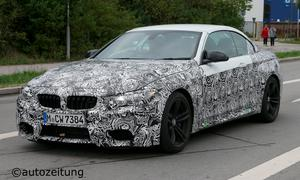 BMW M4 Cabrio 2014 Erlkönig Sechszylinder-Turbo Carbon