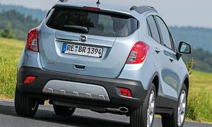 Bilder Opel Mokka 1.6 2013 Crossover Vergleichstest