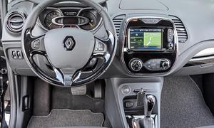 Bilder Renault Captur TCe 120 EDC 2013 Crossover Vergleichstest Innenraum