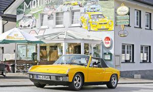 Porsche 914/6 Bilder Oldtimer Classic Cars Sportwagen