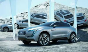 Subaru VIZIV Concept Studie Crossover IAA 2013