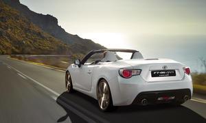 Toyota GT86 Cabrio FT 86 Concept Marktstart Zukunft