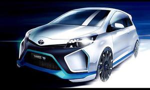 Toyota Yaris Hybrid R 2013 IAA 400 PS Kleinwagen Sportwagen Studie