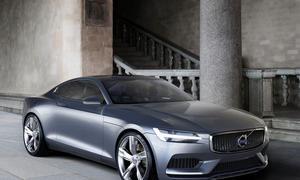 Volvo Concept Coupé Car IAA 2013 Design Studie Zukunft Hybrid Viersitzer