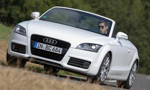 Audi TT Vergleichstest Roadster Cabrio Test Bilder front